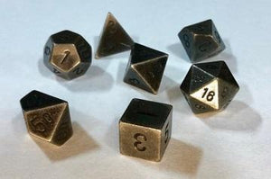 Metal 7-Die Set Dark Metal