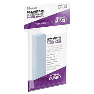 Ultimate Guard: Board Game Supreme Sleeves - Mini American (50)