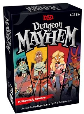 Dungeons & Dragons Board game : Dungeon Mayhem (En)