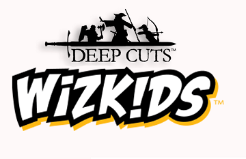 Wizkids : Deep Cuts - Black 50mm Round Base 10ct