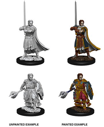 Dungeons & Dragons : Nolzur's Marvelous Unpainted Miniatures - Male Human Cleric