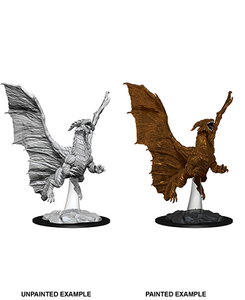 Dungeons & Dragons : Nolzur's Marvelous Unpainted Miniatures - Young Copper Dragon