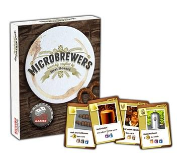 Microbrewers : The Brewcrafters Travel Card Game