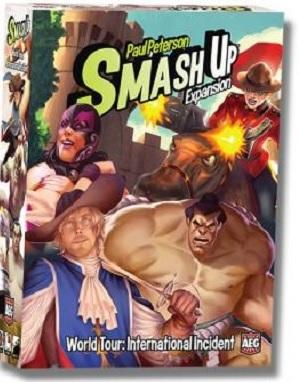 Smash Up Extension : World Tour - International Incident