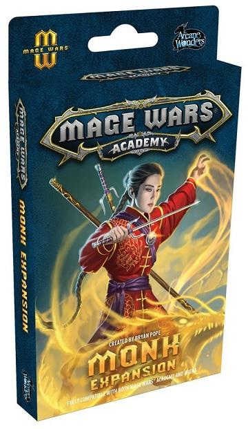 Mage Wars Academy Extension : Monk