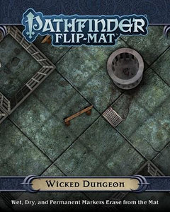 Pathfinder Flip-Mat: Wicked Dungeon (En)
