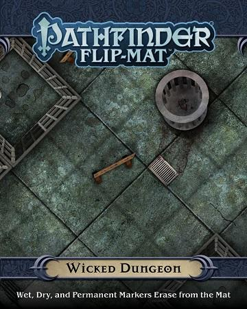 Pathfinder Flip-Mat : Wicked Dungeon (En)