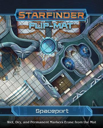 Starfinder : Flip Mat - Spaceport