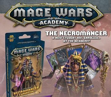 Mage Wars Academy Extension : Necromancer (En)