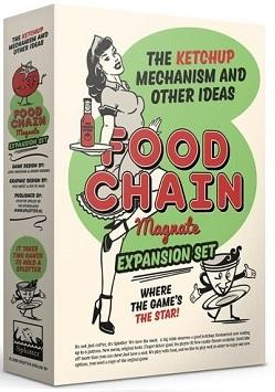 Food Chain Magnate Extension : The Ketchup Mechanism & Other