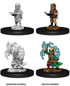 Pathfinder : Deep Cuts Unpainted Miniatures - Male Gnome Sorcerer