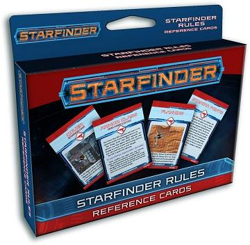 Starfinder : Rules Reference Cards Deck