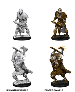 Dungeons & Dragons: Nolzur's Marvelous Unpainted Miniatures - Male Goliath Barbarian