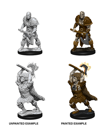 Dungeons & Dragons : Nolzur's Marvelous Unpainted Miniatures - Male Goliath Barbarian