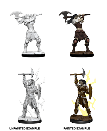 Dungeons & Dragons : Nolzur's Marvelous Unpainted Miniatures - Female Goliath Barbarian