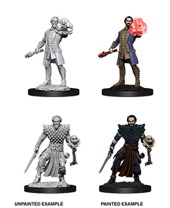 Dungeons & Dragons: Nolzur's Marvelous Unpainted Miniatures - Male Human Warlock