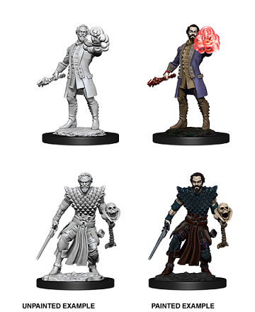Dungeons & Dragons : Nolzur's Marvelous Unpainted Miniatures - Male Human Warlock