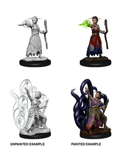 Dungeons & Dragons : Nolzur's Marvelous Unpainted Miniatures - Female Human Warlock