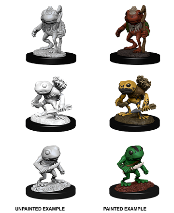 Dungeons & Dragons : Nolzur's Marvelous Unpainted Miniatures - Grung