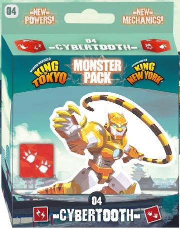 King Of Tokyo / King Of New-York : Cybertooth Monster Pack