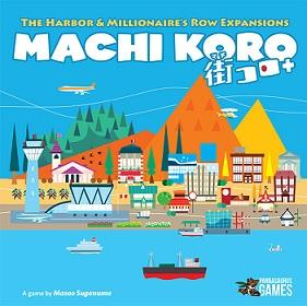 Machi Koro Extension : Harbor and Millionaire's Row