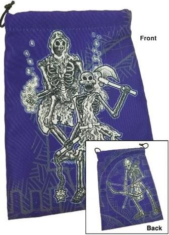 Q-Workshop Dice Bag - Skeletons