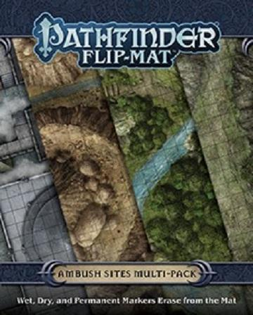 Pathfinder Flip-Mat : Ambush Sites Multi-Pack (En)