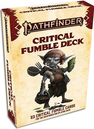 Pathfinder 2e : Critical Fumble Deck (En)