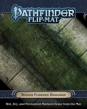 Pathfinder Flip-Mat : Bigger Flooded Dungeon (En)