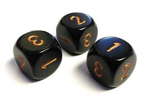 Opaque D3 16mm Black With Gold
