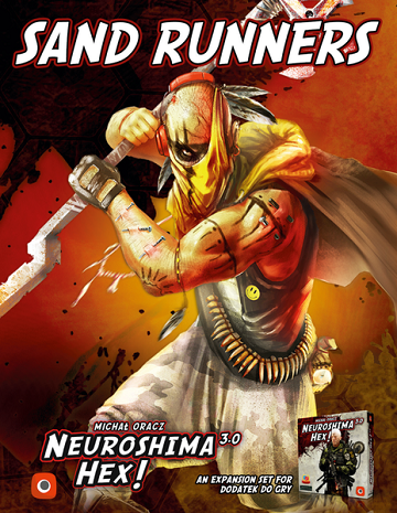 Neuroshima Hex 3.0 Extension : Sand Runners