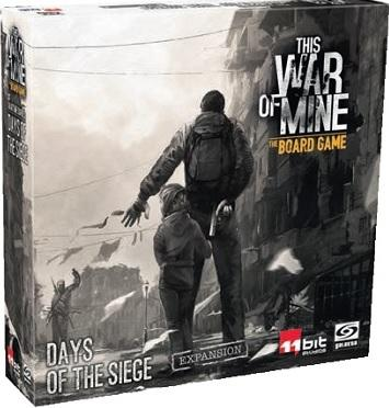 This War Of Mine : The Board Game Extension - Days Of The Siege