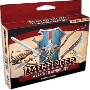 Pathfinder 2e: Weapons And Armor Deck (En)