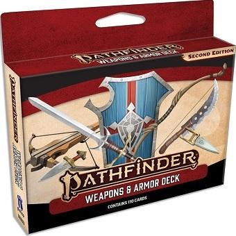 Pathfinder 2e : Weapons And Armor Deck (En)