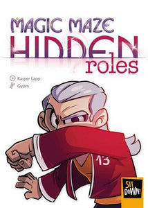 Magic Maze Extension : Hidden Roles (En)