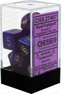 Borealis 7-Die Set Royal Purple With Gold