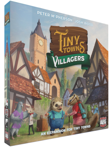 Tiny Towns Extension : Villagers (En)