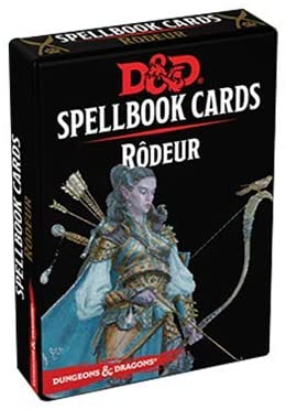 Donjons & Dragons 5e - Spellbook Cards : Rodeur (Fr)