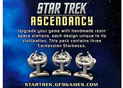 Star Trek Ascendancy Extension : Cardassian Starbases (En)