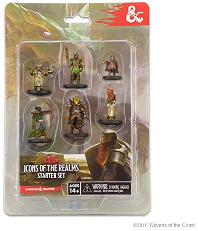 Dungeons & Dragons : Icons Of The Realms - Starter Set (En)