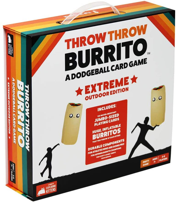 Throw Throw Burrito : Extreme Outdoor Edition
