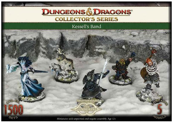Dungeons & Dragons : Collector Series - Kessel's Band