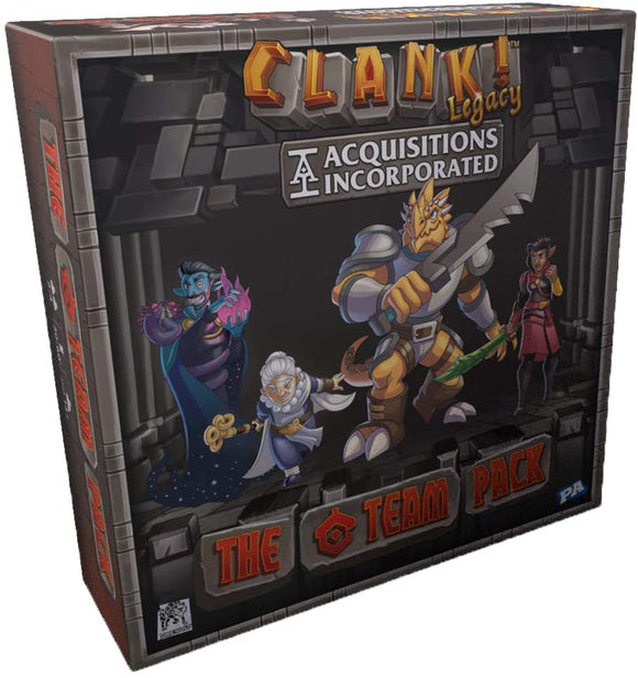 Clank! Legacy : Acquisitions Inc. Extension - The C Team Pack (En)