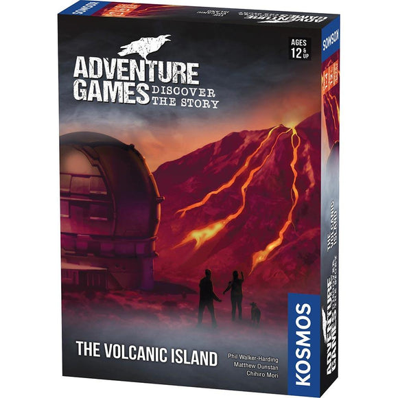 Adventure Games : The Volcanic Island (En)