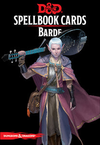 Dungeons & Dragons 5th - Spellbook Cards: Barde (Fr)