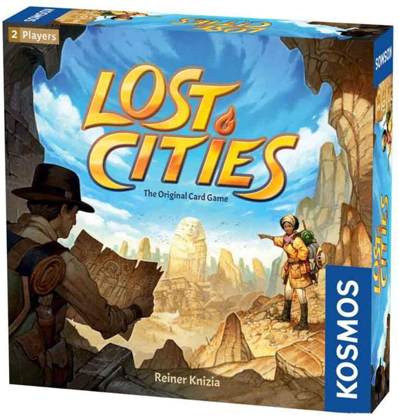Lost Cities : The Card Game (En)