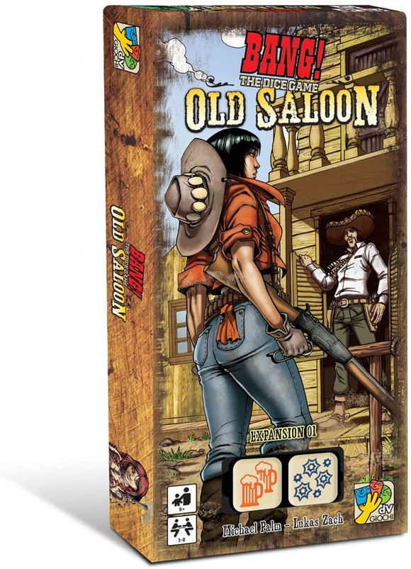 Bang! The Dice Game Extension : Old Saloon