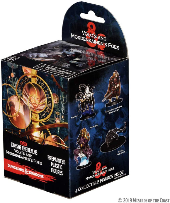 Dungeons & Dragons : Icons of the Realms - Volo & Mordenkainen Foes - 8 booster pack (En)