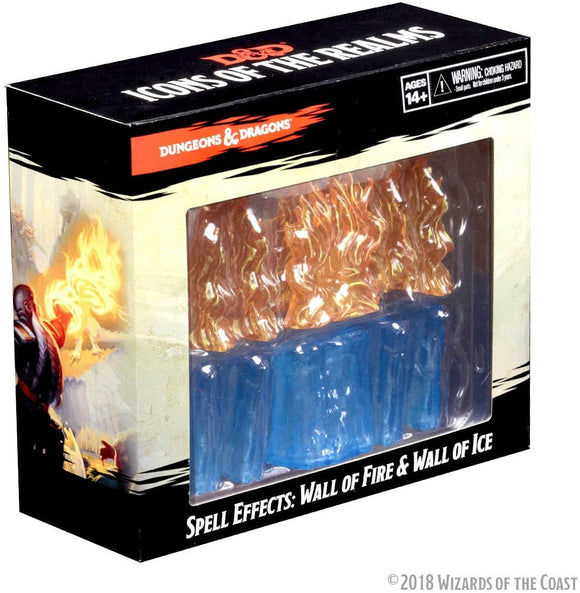 Dungeons & Dragons : Spell Effects - Wall of Fire & Wall of Ice pack (En)