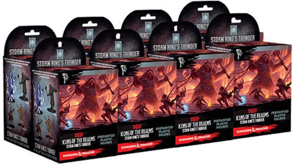 Dungeons & Dragons : Icons Of The Realms - Storm King's Thunder - 8 box Brick